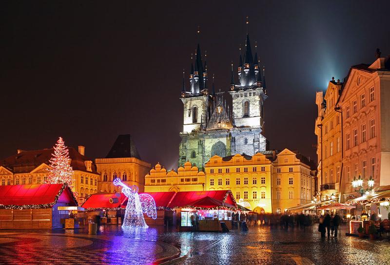 новый год в чехии для детей